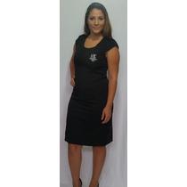 Vestido Mary Kay Em Sintonia / Tubinho Mk Bordado / Bordada