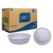 Marmitex Embalagem De Isopor Nº 9 Com Tampa Darnel 100un