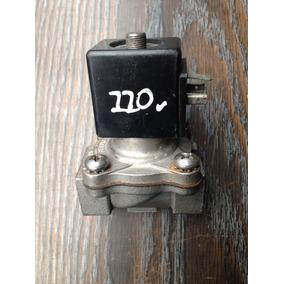 Valvula Solenoide De 1/2 Acero Inoxidable N/c 115 V Factura