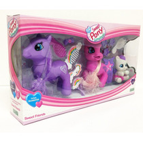 The Sweet Pony Luminoso Incluye Accesorios Original Ditoys