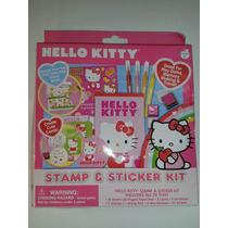 Set Calcamonias, Sellos Marcadores Hello Kitty! Envio Gratis