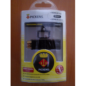 Cable Pickens Adactador Hdmi Macho Hembra Dmm009