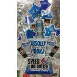 Novedoso Adorno De Torta Del Vodka Absolut Con Speed