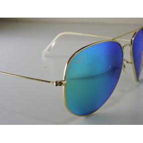 3026 Ray Ban Azul Espelhado Aviador Original Rayban 3025 De Sol ... 4e47ec640b