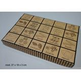 100 Cajas Ravioles 26x18x2,7 Base Y Tapa