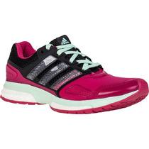 Tênis Adidas Response Boost 2 Rs/pto/vde Frete Grátis