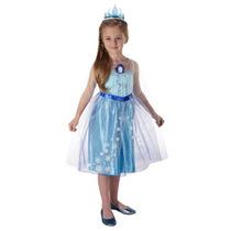 Frozen Elsa Disfraz, Talla 4-6, Importado!