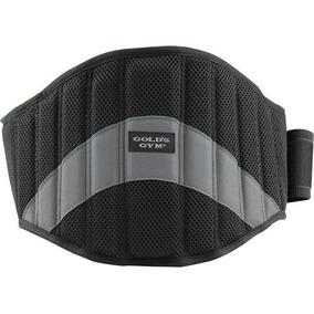 Cinturon De Tela Para Gimnasio Golds Gym 100% Original