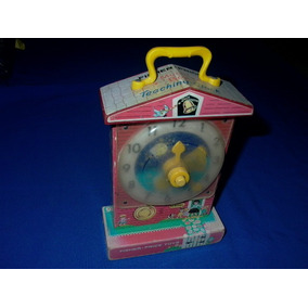 Antiguo Reloj Fisher Price 1960