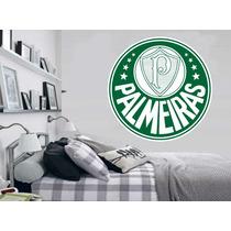 Adesivo De Parede Futebol Escudo Time Palmeiras Verdão