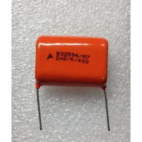 100x Poliester 2m2 400v 2,2uf 400v Epcos Pacote C/ 100 Pçs