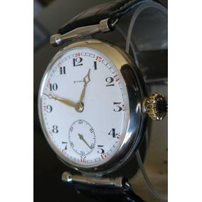 Reloj Exclusivo Cyma Suizo Cuerda 15 Rubi Año 1910 Mecanico