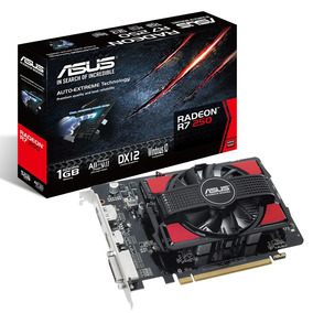 Placa Video Amd Ati Radeon Asus R7 250 1gb Gddr5 Dvi Mexx