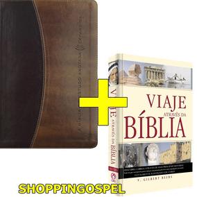 Bíblia De Estudo Anotada Expandida + Viaje Através Da Biblia