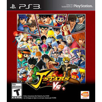 Juego J-stars Victory Vs+ Playstation 3 Ibushak Gaming