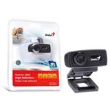 Camara Web Genius 720p Hd Facecam 1000x Usb Negra - Oferta