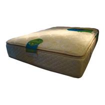 Colchón Resorte 2 Plazas 140x190x31 Topacio Simetric Pillow