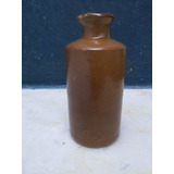 Antigua Botella De Gres Para Tinta Sellada Bourne Deney