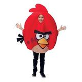 Disfraz Para Niño Traje Pájaro Rojo De Angry Birds Magic Pa
