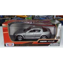1:24 Mazda Rx8 Gris Motor Max C Caja