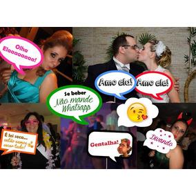 Kit C/ 125 Placas Divertidas Casamento Aniversario Formatura