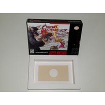 Caixa Chrono Trigger + Berço Incluso, Super Nintendo!!