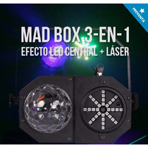 Efecto De Iluminacion Laser Led Strobo Madbox 3en1 Tecshow