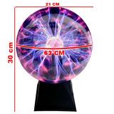 Lampara De Plasma Jumbo La Más Barata Neon Gaussini Tesla