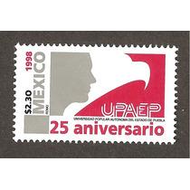Estampilla 25 Aniv. Universidad Popular Aut. Puebla