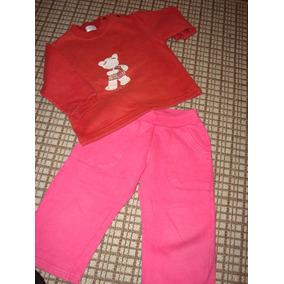 Conjunto Pantalon Jump Y Buzo Chibel 2 Años, Muy Lindo