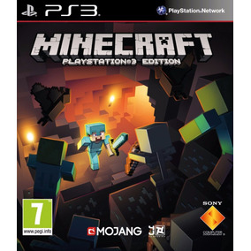 Jogo Infantil Minecraft Pra Ps3 Playstation Digital