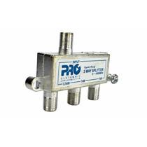 Divisor Antena Vhf/uhf/catv 1x3 Pqdv-1023 Proeletronic