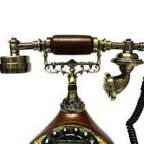 Telefone Antigo Mesa Retro Vintage Aceita Qualquer Linha Tel