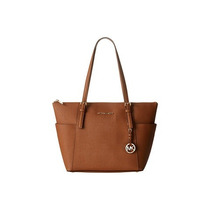Bolsa Michael Kors Saffiano Jet Set Top-zip Tote Media