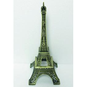 Torre Eiffel 13 Cm Metalica Replica Adorno Subte A Carabobo