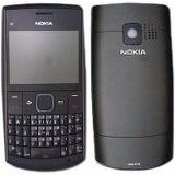 Carcaça Painel Completo Nokia X2-01 X2 01 X201 Vinho Frete B