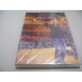 Dvd Musical Erasmo Carlos 50 Anos De Estrada
