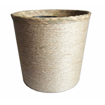 Balde Newborn Fibra Sisal Ninho Fotografia + Cesto Bambu
