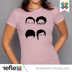 Remera The Big Bang Theory 100% Algodón Calidad Premium