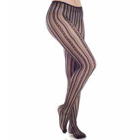 Meia-calça Rendada Correntes/trança Trifil (x06055/6055) Fio