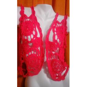 Chalecos Y Remeras Tejidos Artesanales En Crochet Horquilla