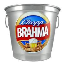 Balde De Gelo Personalizado - Brahma - Garrafa - Lata