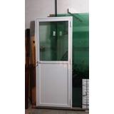 Porta Alumínio Sala Cozinha Area De Serviço 210x90 Linha 25