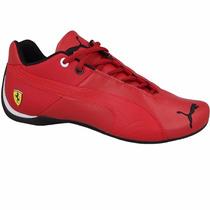 2016 Tenis Puma Future Cat Piel Mid Cat Ferrari Total Red