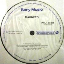 Magneto - Cambiando El Destino Single Promo Nuevo Translu Lp