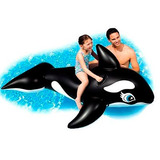 Boia Bote Baleia Orca Inflável Gigante Piscina Praia