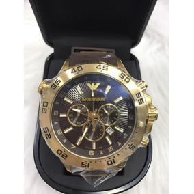 Relógio Emporio Armani 0690 Borracha Original Garantia Ar140