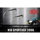 Cobertor Cromado De Faro Delantero Kia Sportage 2008