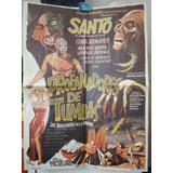 Poster Santo El Enmascarado De Plata Profanadores De Tumbas