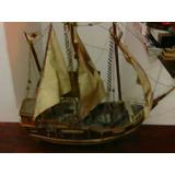 Barco Fragata Carabela De Madera